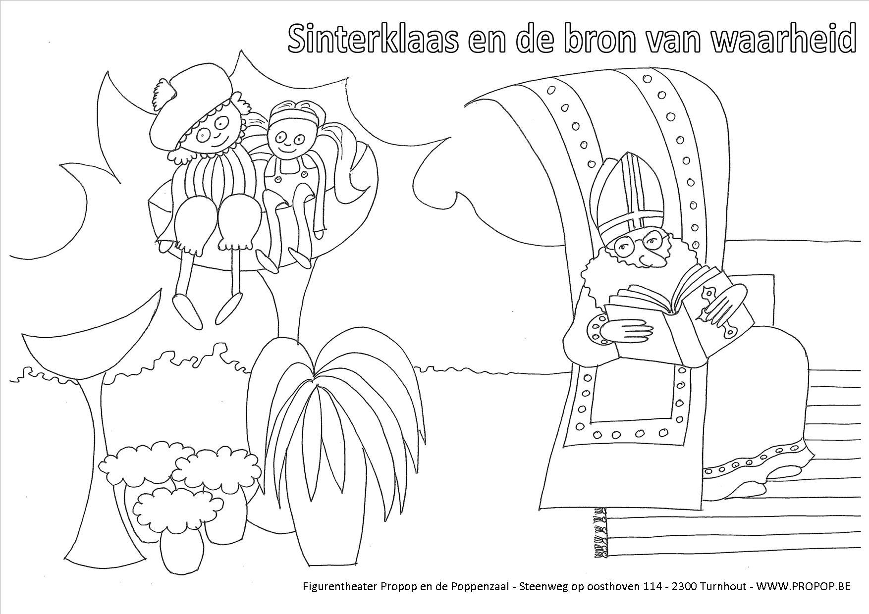 Kleurplaat Kathleen Amant Sinterklaas Boek Kleurplaat Krijg Duizenden Kleurenfoto